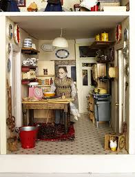 dolls house kitchen furniture small stories dolls houses exhibition and albert museum