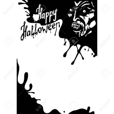 halloween party clipart halloween vampire greeting card or party flyer with copy space