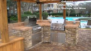 outdoor kitchen construction backyard bbq youtube