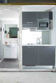 hybrid kitchens hybrid pod combining bathroom and kitchen