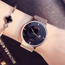 bracelet fashion watches images New lady fashion watch women elegant thin rose gold bracelet mesh jpg
