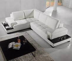 bonded leather sectional sofa white bonded leather sectional sofa with storage tos dg cf970 ex6002