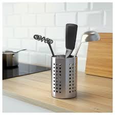 kitchen utensil canister ordning utensil holder ikea