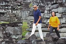 president obama u0027s trip to an ancient indonesian city had a deeply
