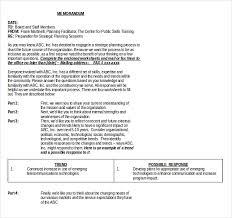 strategic plan example sample sales plan 9 example format