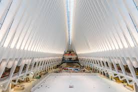 at last tour santiago calatrava u0027s world trade center