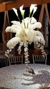 feather centerpieces say i do weddings events centerpieces