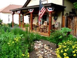 patriotic front porches front porches porch and decoration