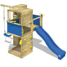 si e balancoire wickey smart cube aire de jeux tour d escalade portique bois