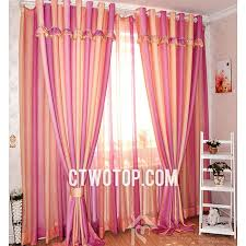 Pink And Orange Curtains Price Best Discount Room Orange And Pink Striped Curtains