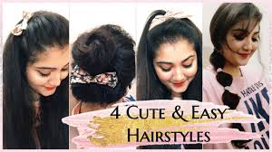 heatless hairstyles for thin hair 1 min easy and cute hairstyles for fine thin hairs heatless