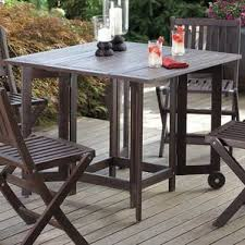 Rustic Patio Tables Rustic Patio Dining Tables You U0027ll Love Wayfair