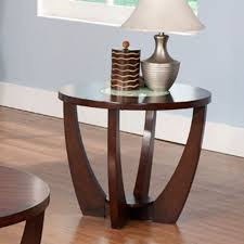 Glass End Tables Glass And Wood End Tables Home Design Ideas And Pictures