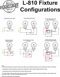 obstruction lights and controls faa l 810 flight light inc