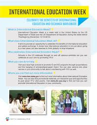 why does the us celebrate thanksgiving yfu usa celebrates international education week iew youth for