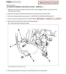 honda odyssey anti theft radio code alternator replacement