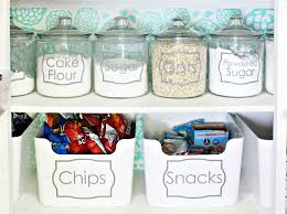 Labels For Kitchen Canisters How To Organize Your Pantry And A Pretty Pantry Makeover Classy
