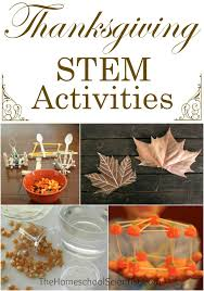 thanksgiving stem activities homeschooling