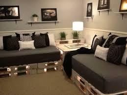 wohnideen europaletten sofa aus paletten eine perfekte vollendung des interieurs
