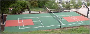Backyard Tennis Courts by Backyards Enchanting An Outdoor Tennis Court 140 How To Make In