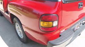 hd video 2000 chevrolet silverado sportside regular cab red for
