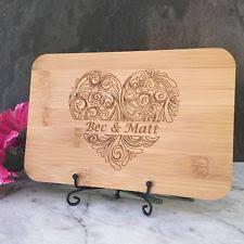 personalised cutting board personalised cutting boards ebay