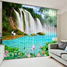 Classic Home Decor Online Get Cheap Nature Curtains Aliexpress Com Alibaba Group