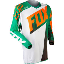 fox motocross shirts all new fox racing 2015 kids 180 vandal jersey green orange wide