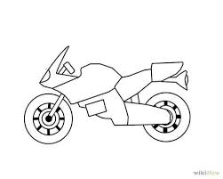 coloring page marvelous drawing motorcycles coloring page