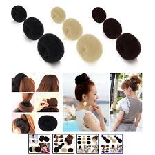 women s hair accessories new womens hair donut sponge bun ring hair accessories