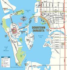florida map map of sarasota florida downtown interactive downtown sarasota