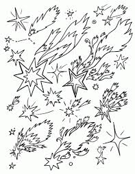 shooting stars coloring pages aecost net aecost net