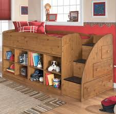 signature design by ashley stages twin loft bed with right storage