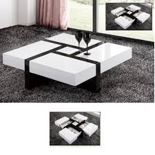 modern white square coffee table square white high gloss coffee table coffee addicts