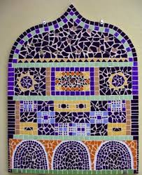 Best Mosaic Walls Or Doors Images On Pinterest Mosaic Ideas - Wall mosaic designs