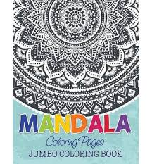 mandala coloring pages jumbo coloring book speedy publishing