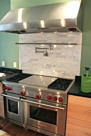 stove backsplash tile kitchen cool ideas for small kitchens cheap