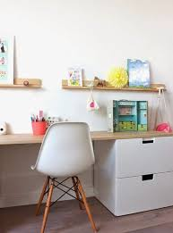 childrens desk and bookshelves kids art center that they can grow into little rooms pinterest