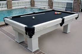 slate base pool table outdoor pool tables regal billiards