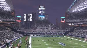 seahawks light up sign lights in the 12 building light up during seahawks night games in