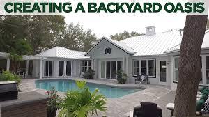 create a backyard oasis video hgtv