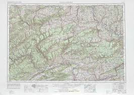 Eastern Pennsylvania Map by Williamsport Topographic Maps Pa Usgs Topo Quad 41076a1 At 1