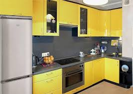 Yellow Kitchen Cabinet Kitchen Color Yellow The Color Schemes Info Home And Furniture