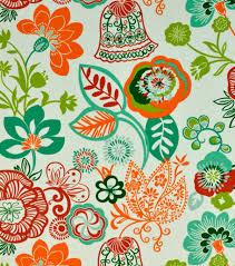 home decor print fabric covington razzle 147 sherbet joann
