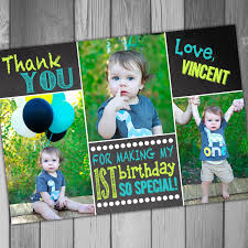 first birthday thank you cards u2013 gangcraft net