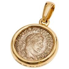 silver coin necklace pendants images Bulgari gold coin pendant gold coins coins and pendants jpg