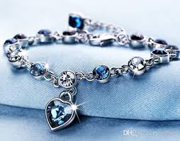girls bracelet images Factory direct bracelet ocean heart crystal korean bracelet girls jpg