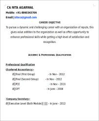 Fresher Accountant Resume Sample by 26 Accountant Resume Format