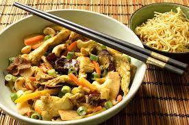 cuisine chinoise poulet poêlée asiatique au poulet ma cuisine santé