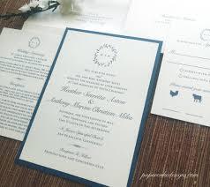 invitation flat card u2013 papercake designs